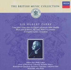 British Music Collection - Sir Hubert Parry
