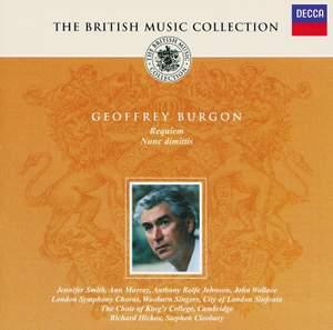 British Music Collection - Geoffrey Burgon
