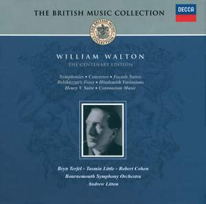 British Music Collection - William Walton - The Centenary Edition