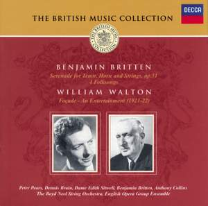 British Music Collection - Britten & Walton