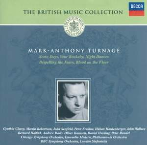 British Music Collection - Mark-Anthony Turnage