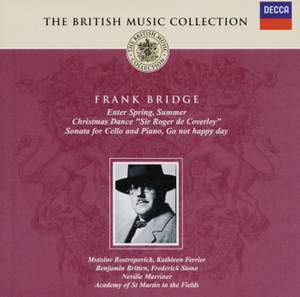 British Music Collection - Frank Bridge Product Image