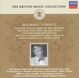 British Music Collection - Michael Tippett