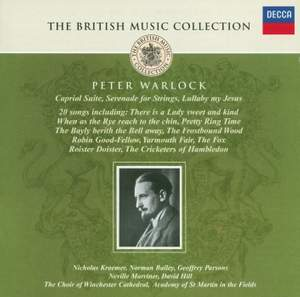 British Music Collection - Peter Warlock