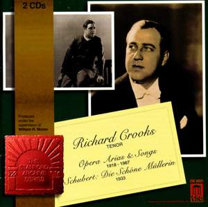 Richard Crooks sings Opera Arias and Songs
