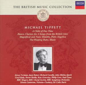 British Music Collection - Tippett's Choral Works Product Image