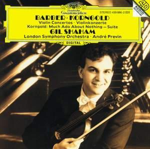 Barber and Korngold: Violin Concertos