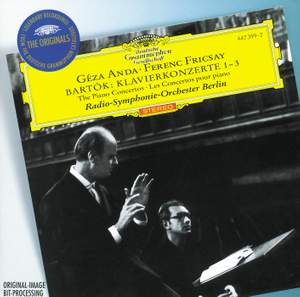 Bartók: Piano Concertos Nos. 1, 2 & 3 Product Image