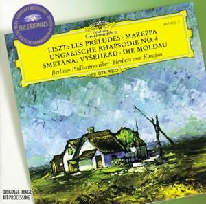 Herbert von Karajan conducts Liszt & Smetana Product Image