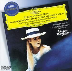 Mozart - Piano Concertos Nos 6, 17 and 21 Product Image