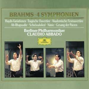 Brahms - Symphonies & Overtures