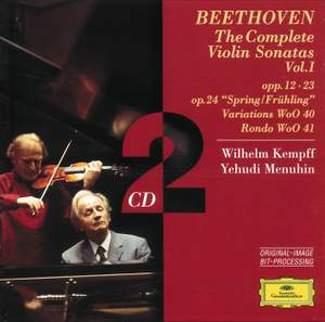 Beethoven - The Complete Violin Sonatas Volume 1 Product Image