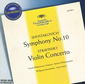 Stravinsky: Violin Concerto in D, etc.