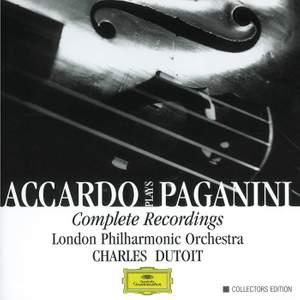 Accardo plays Paganini