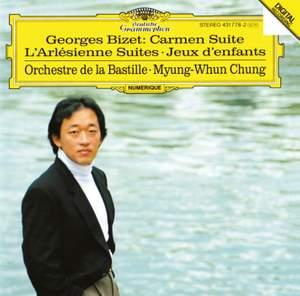 Bizet: Carmen Suite, Jeux d'enfants, L'Arlesienne Suites Product Image