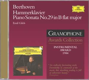 Beethoven: Piano Sonata No. 29 in B-flat major, Op. 106 'Hammerklavier'