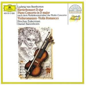 Beethoven: Piano Concerto in D major & Romances