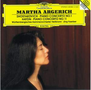 Shostakovich: Piano Concerto No. 1 in C minor for piano, trumpet & strings, Op. 35, etc.