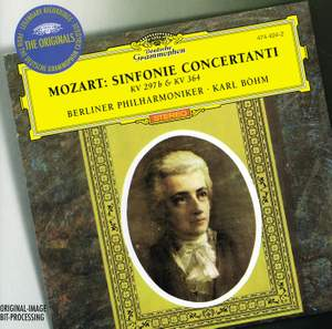 Mozart: Sinfonia Concertante for Violin, Viola & Orchestra in E flat major, K364, etc. Product Image
