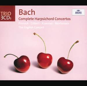 Bach Complete Harpsichord Concertos