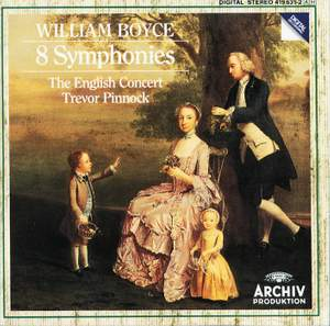 Boyce: Symphonies Nos. 1-8, Op. 2 Product Image