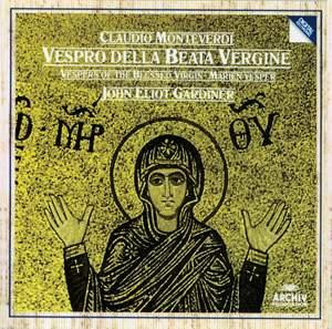 Monteverdi: Vespro della beata Vergine (1610) Product Image