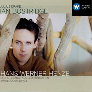 Henze, H: Six Songs from the Arabian, etc. Product Image