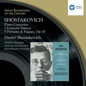 Shostakovich: Piano Concerto No. 1 in C minor for piano, trumpet & strings, Op. 35, etc. Product Image