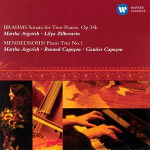 Brahms: Sonata for 2 pianos in F minor, Op. 34b, etc.