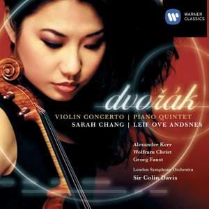 Dvorak: Violin Concerto & Piano Quintet Product Image