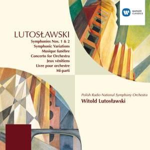 Lutosławski: Symphonic Variations, etc.