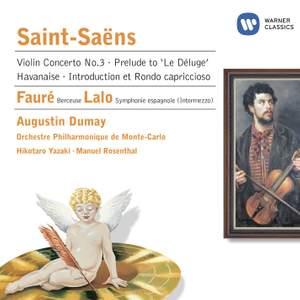Saint-Saëns - Fauré & Lalo