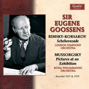 Eugene Goossens conducts Rimsky Korsakov & Mussorgsky