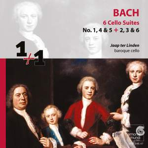 Bach, J S: Cello Suites Nos. 1-6, BWV1007-1012 Product Image
