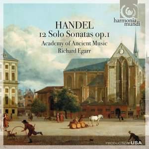 Handel - 12 Solo Sonatas, Op. 1 Product Image