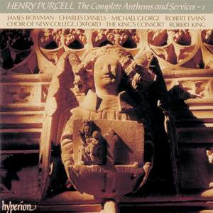 Purcell - The Complete Anthems and Services - 1