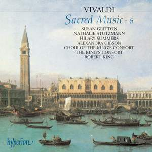 Vivaldi - Sacred Music 6 Product Image