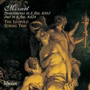 Mozart: Divertimento in E flat major, K563, etc.