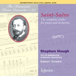 The Romantic Piano Concerto 27 - Saint-Saëns Product Image