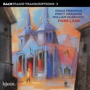 Bach - Piano Transcriptions Volume 3