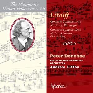 The Romantic Piano Concerto 26 - Litolff Product Image