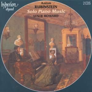 Rubinstein - Solo Piano Music