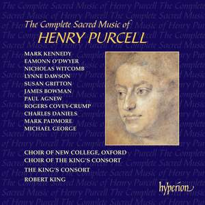 Purcell - The Complete Sacred Music (The Complete Anthems and Services) Product Image