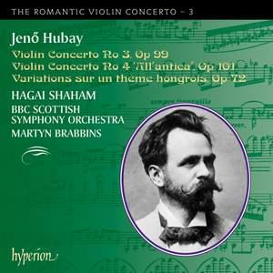 The Romantic Violin Concerto 3 - Hubay