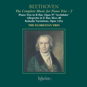Beethoven - Complete Music for Piano Trio 2