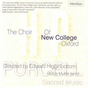 Purcell - Sacred Music Product Image