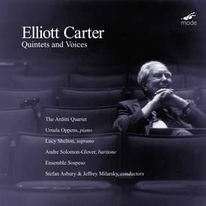 Elliott Carter - Quintets & Voices Product Image