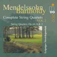 Mendelssohn - Complete String Quartets Volume 2