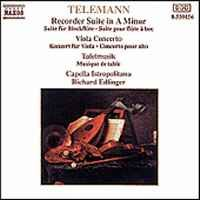 Telemann: Concerto TWV 51:G9 in G major for viola, strings & b.c., etc.