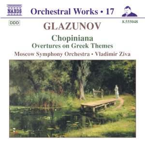 Glazunov - Orchestral Works Volume 17 Product Image